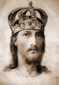 Набросок Спасителя, иконописец Григорий Журавлев