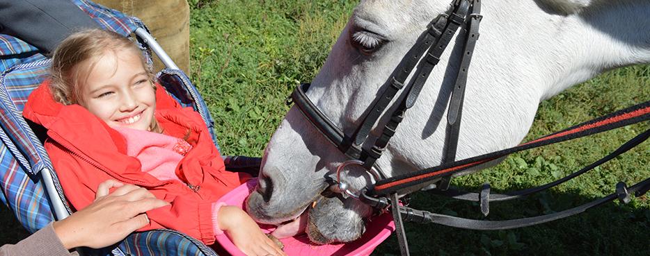 Реабилитация ДЦП ребенка с участием лошадей - увлекательный и радостный процесс