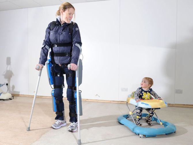 Экзоскелет для инвалида: потрясающие возможности и большое будущее