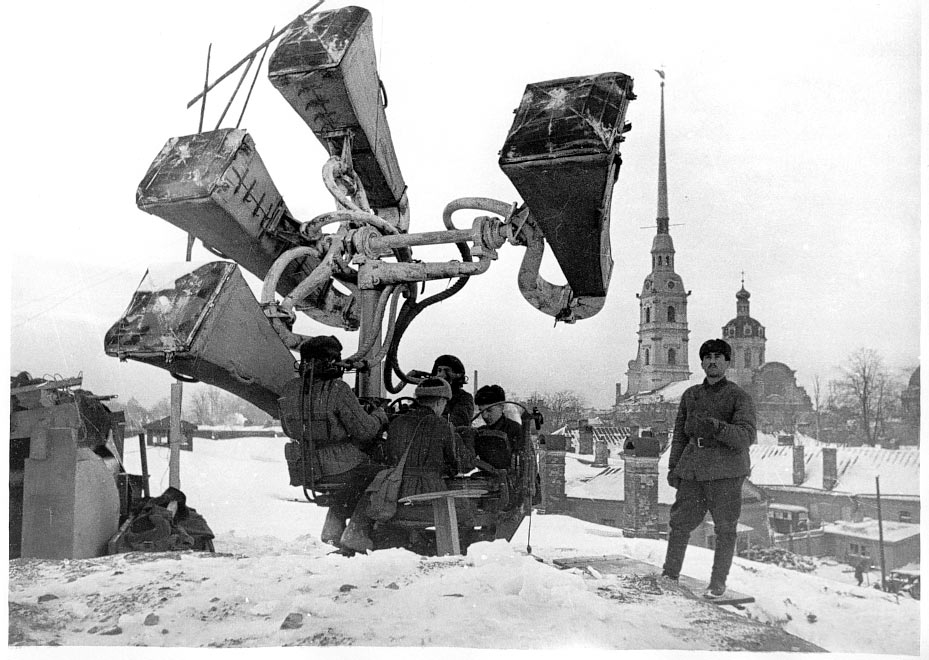 Как слепые воины-блокадники защищали Ленинград