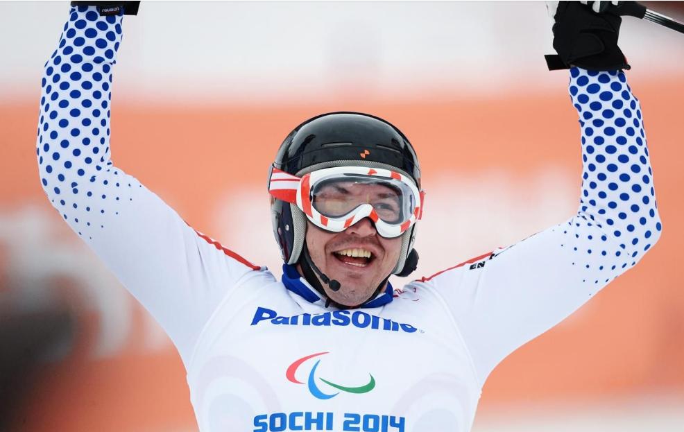 Валерий Редкозубов о горных лыжах для незрячих спортменов