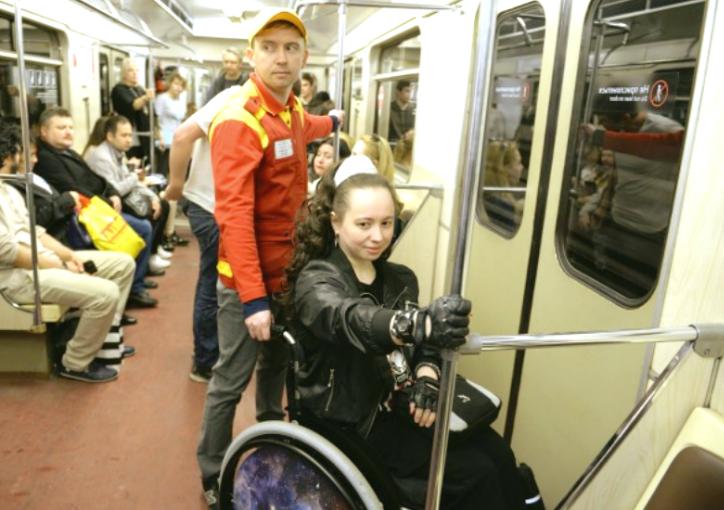 Новый порядок обеспечения доступной среды в метро для инвалидов